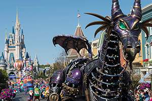Malificent in Parade